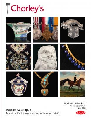 Fine Art & Antiques, Early English Porcelain, Silver & Jewellery, Books & Medals (sale originally scheduled for January but now postponed until March)